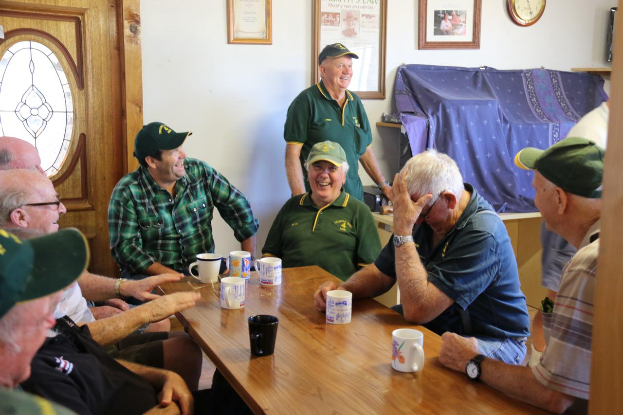 Shed 4 Men, Temora, Men's Shed, Gus Worland, Man Up, ABC