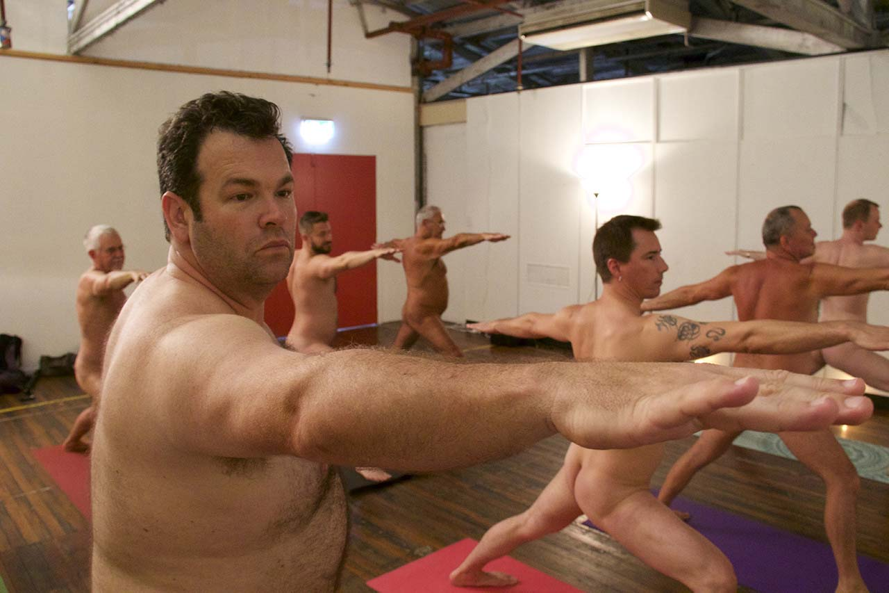 Really. naked yoga men are