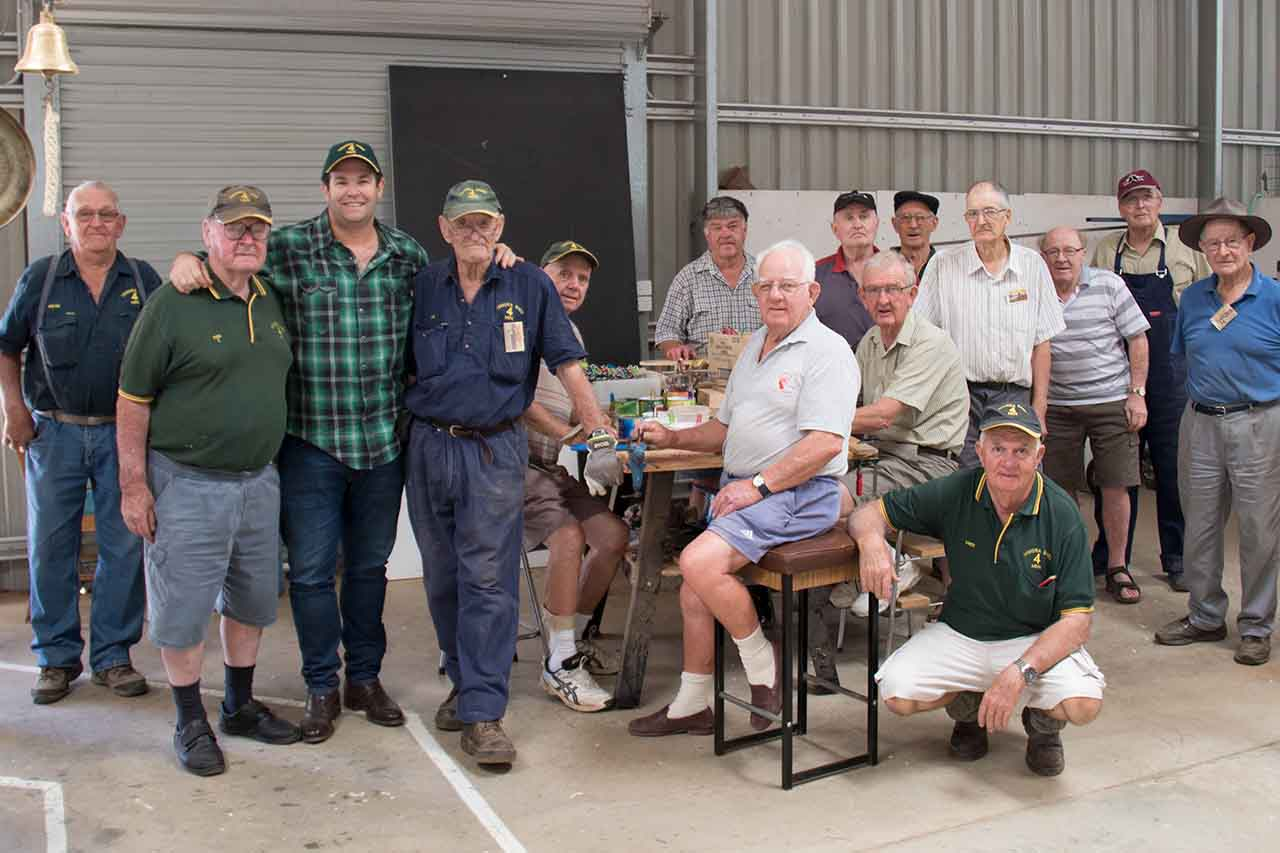 Temora Shed 4 Men, Gus Worland, Man Up